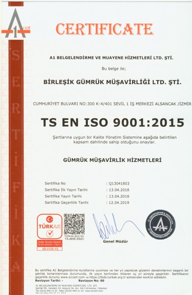 ISO 9001 2015-2018-2