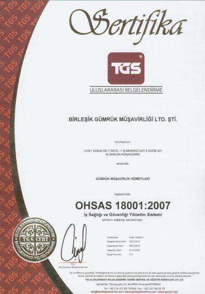 ISO 18001.2007-XXX