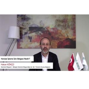 VIDEO 4-HARİÇTE İŞLEME İZİN BELGESİ NEDİR - X